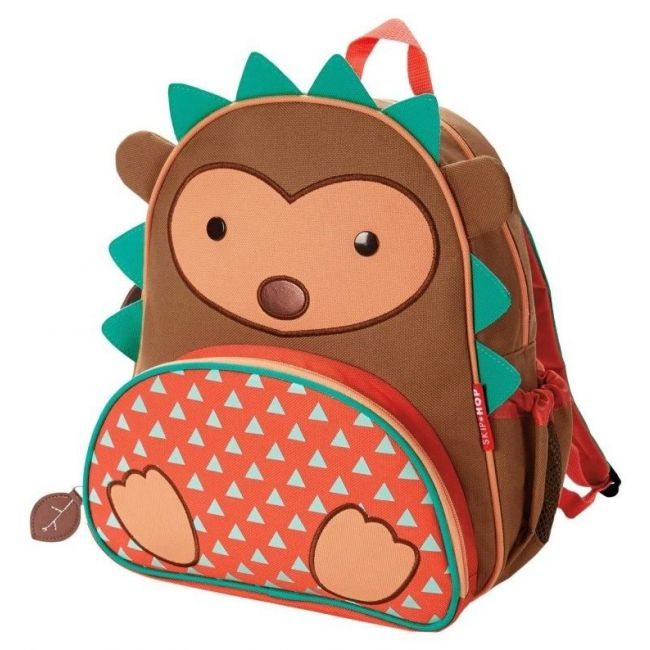 SkipHop Zoo Kid's Backpack, Hedgehog