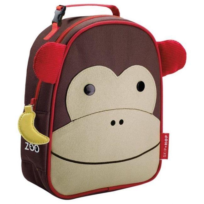 SkipHop Zoo Lunchie Kid's Bag, Monkey