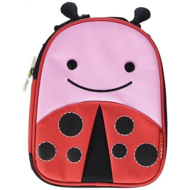 SkipHop Zoo Lunchie Kid's Bag, Ladybug