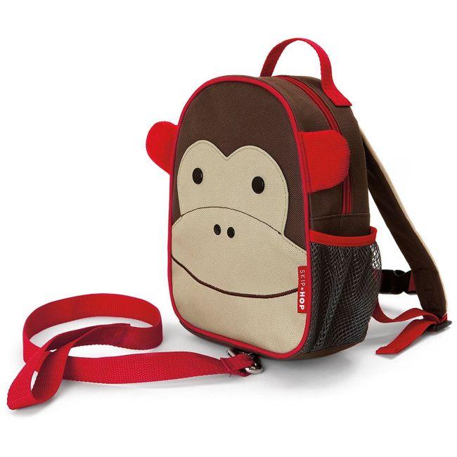 SkipHop Zoolet Kid's Bag, Monkey
