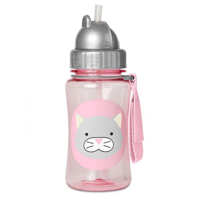 SkipHop - Zoo Straw Bottle Winter, Cat