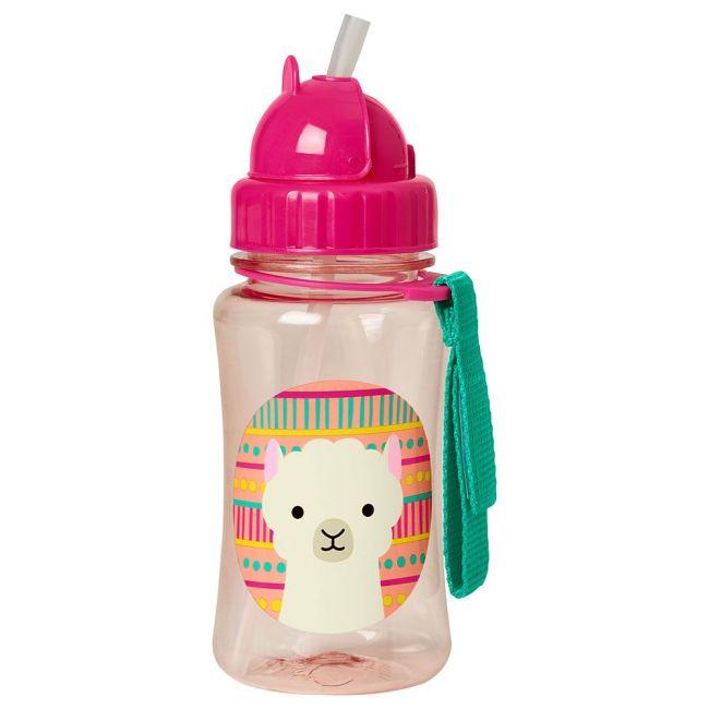 SkipHop - Zoo Straw Bottle - Llama