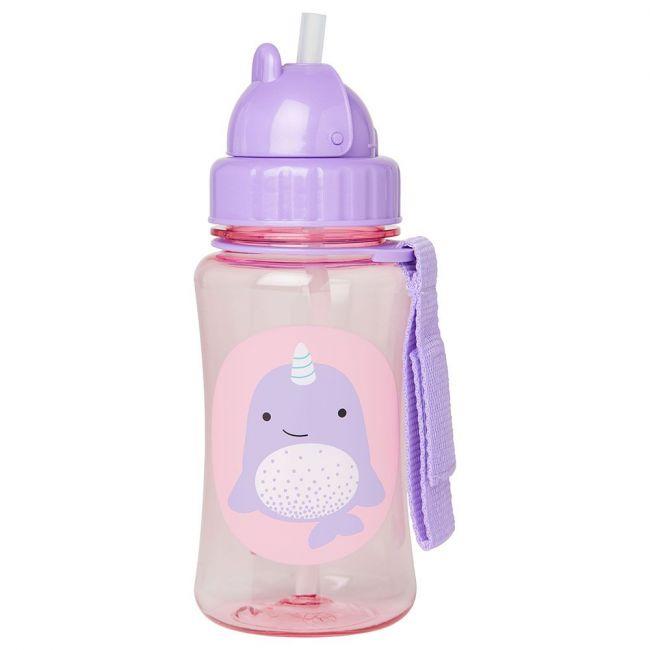 Skip Hop - Zoo Straw Bottle - Narwhal
