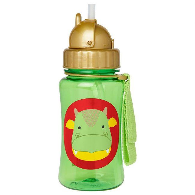 Skip Hop - Zoo Straw Bottle - Dragon