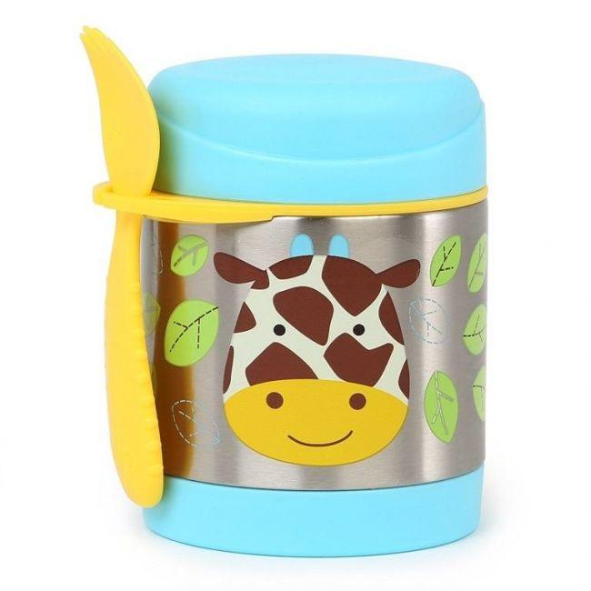 SkipHop Zoo Food Jar, Giraffe