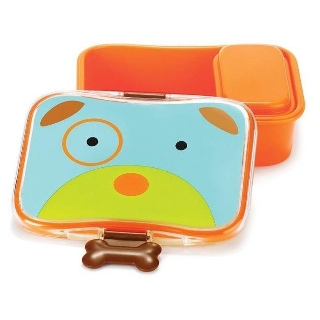 SkipHop Zoo Kid's Lunch Box Kit, Dog