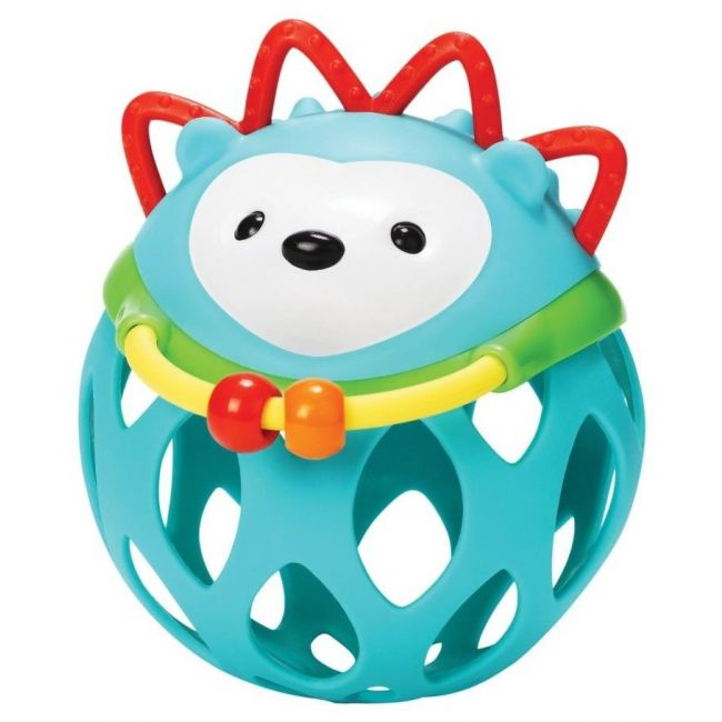 SkipHop Explore & More Roll Around Rattle, Hedgehog
