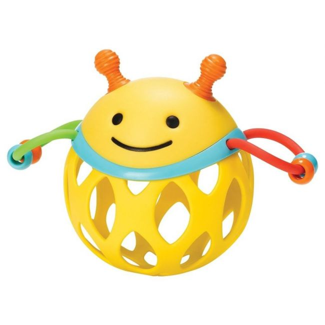 SkipHop Explore & More Roll Around Rattle, Bee
