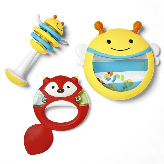 SkipHop Explore & More Baby Musical Instrument Set