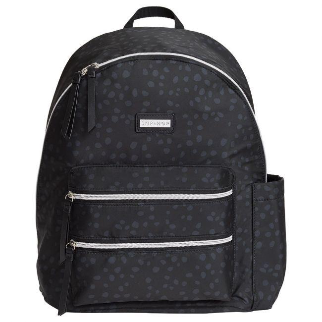 Skiphop- Carrington Diaper Backpack - Black