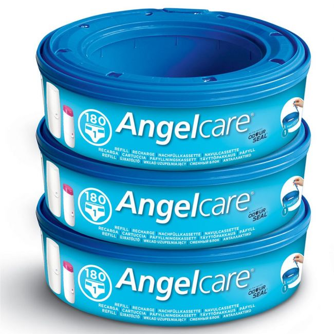 Angelcare - Nappy Disposal System - Refill Cassettes - 3 Pack