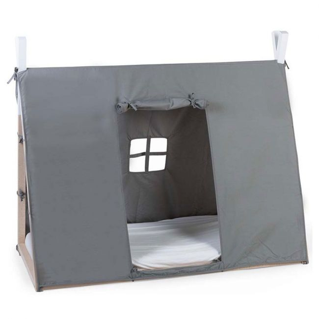 Childhome - Tipi Bed Frame Cover 70x140cm - Grey