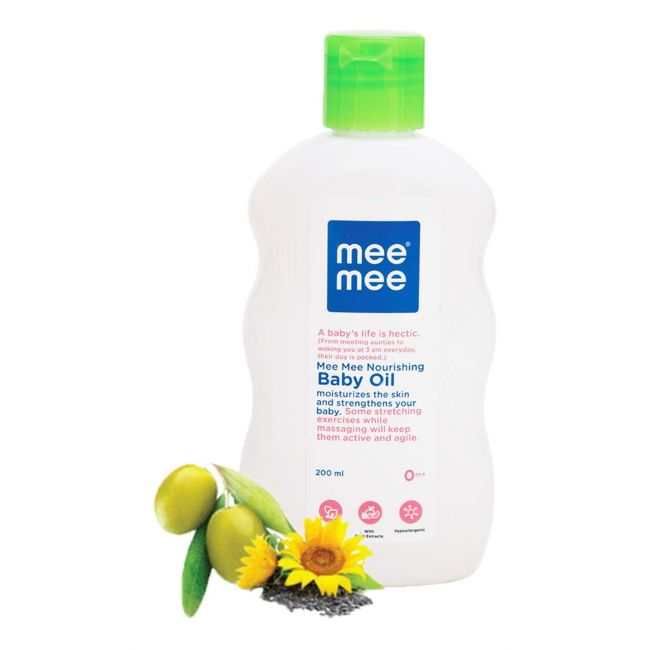 MeeMee - Baby Oil with Fruit Extracts - 200Ml