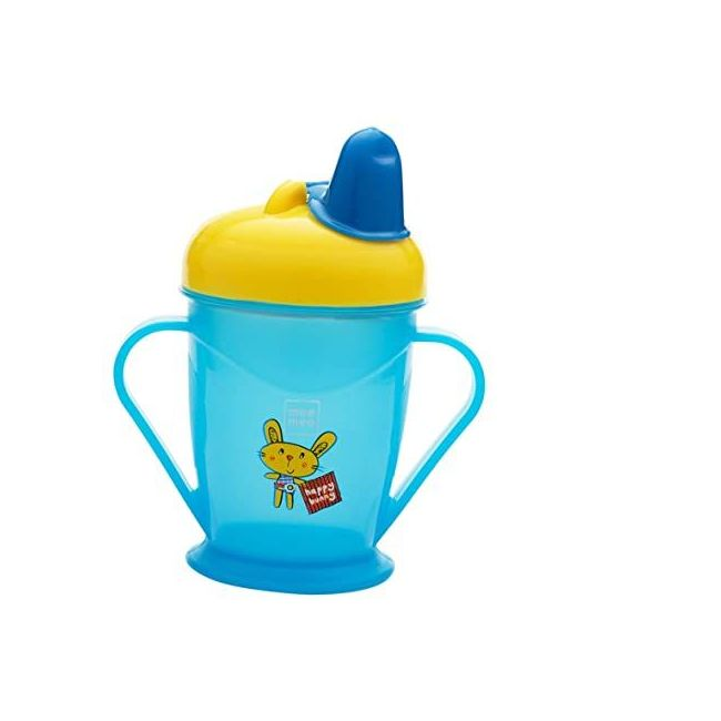 Mee Mee - Easy Grip Sipper Cup With Twin Handle 180 Ml Blue