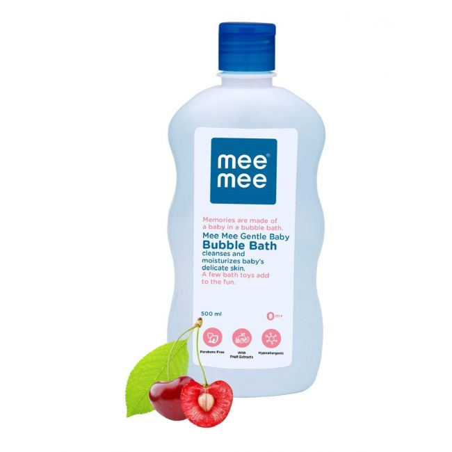 Mee Mee - Gentle Baby Bubble Bath With Cherry Extracts 500 Ml