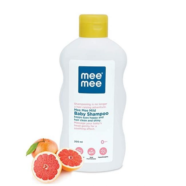 Mee Mee - Mild Baby Shampoo With Fruit Extracts 200 Ml