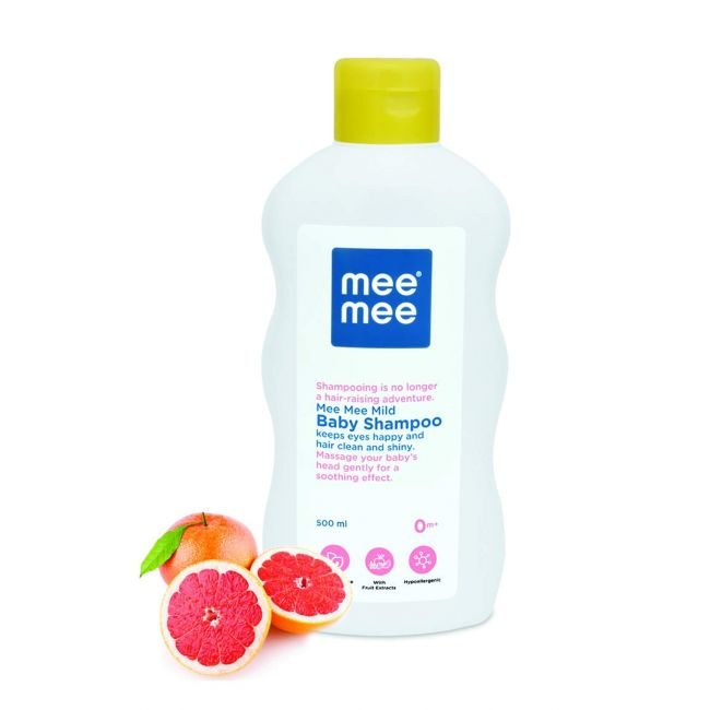 Mee Mee - Mild Baby Shampoo With Fruit Extracts 500 Ml