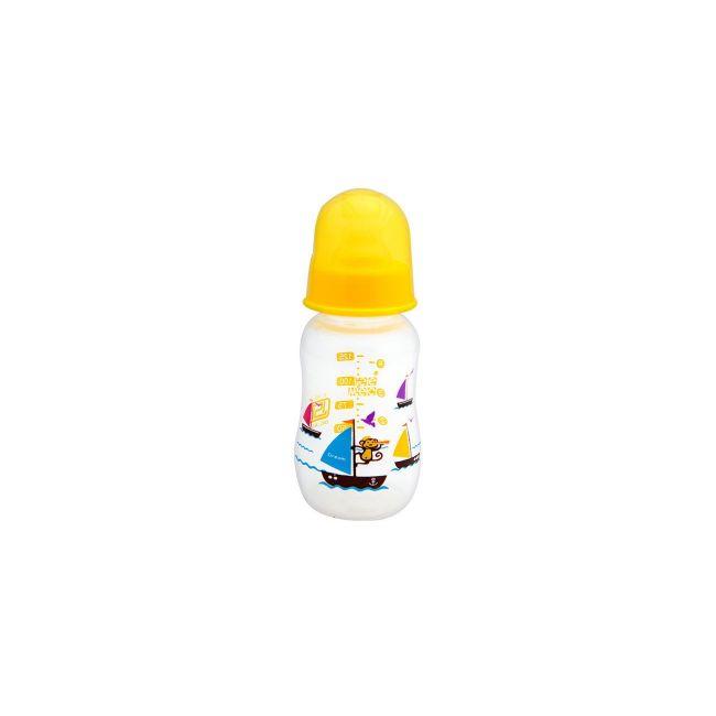 Mee Mee - Premium Baby Feeding Bottle 125 Ml Yellow