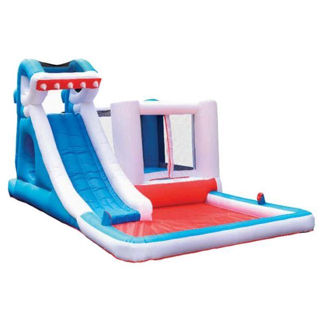 Megastar - Bouncy Shark Jumper W Double Water Slide