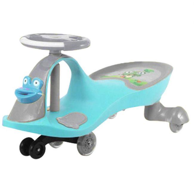 Megastar - Foot To Floor Ride On Swinger Twister Design Car - Blue
