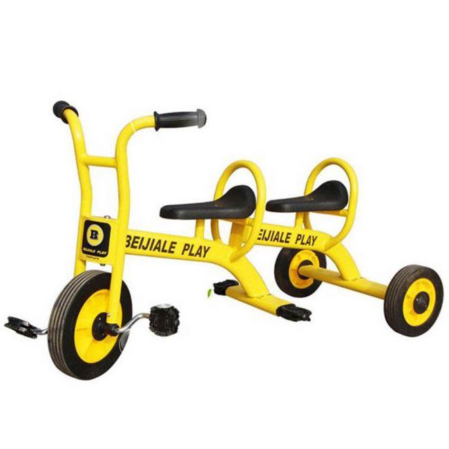 Megastar - Megawheels Kids 2 Seater Metal Tricycle - Yellow