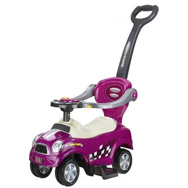 Megastar - My Lil Sunhine Push Car With Handle - Purple