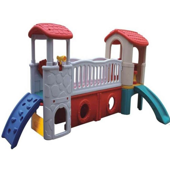 Megastar - Play Slide With Twin Towers - White