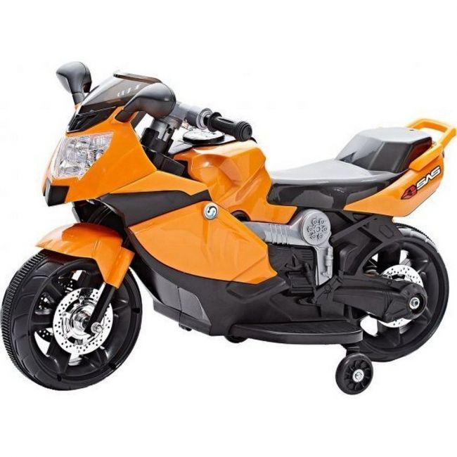 Megastar - Ride On BMW Sports Style Bike - Orange