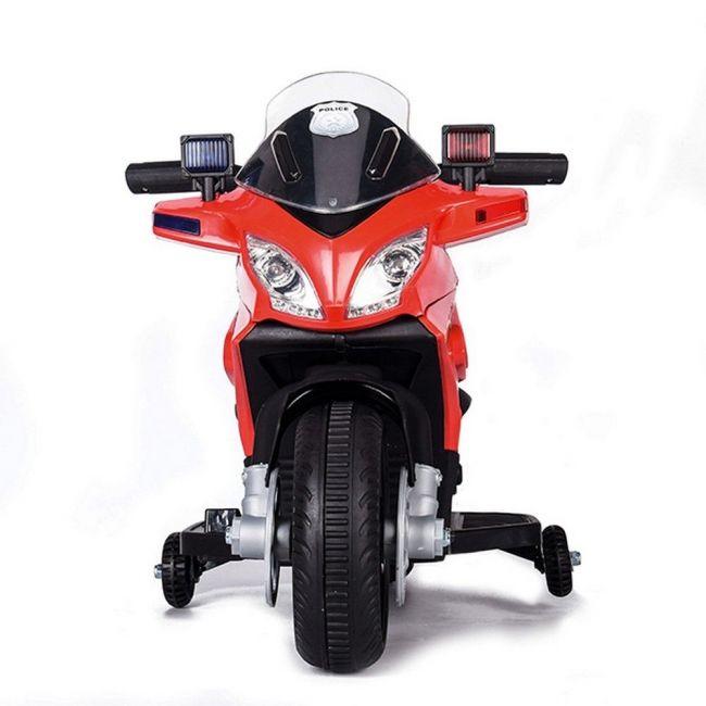 Megastar Ride On Dash Bike 6 V With Siren Light - Red