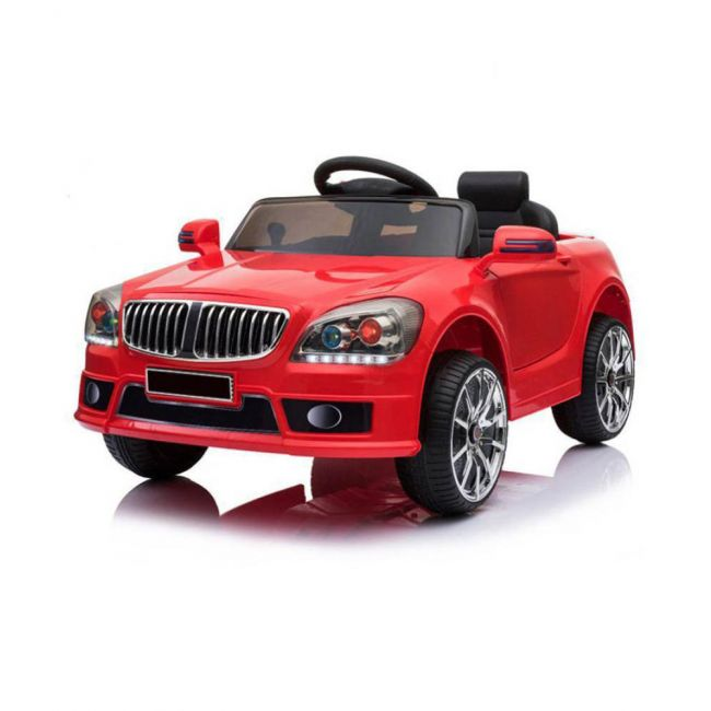 Megastar - Rideon 6V Turbo Electric Motor Car With Remote - Red