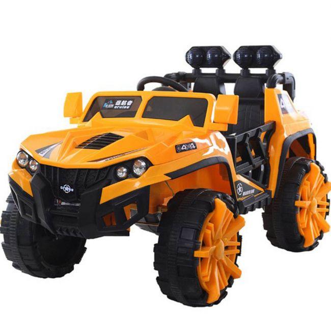 Megastar - Rideon Entourage 2 Seater Suv 12V Electric Battery Car - Yellow