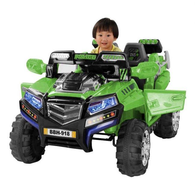 Megastar - Rideon Safari Jeep 2 Seater - Green