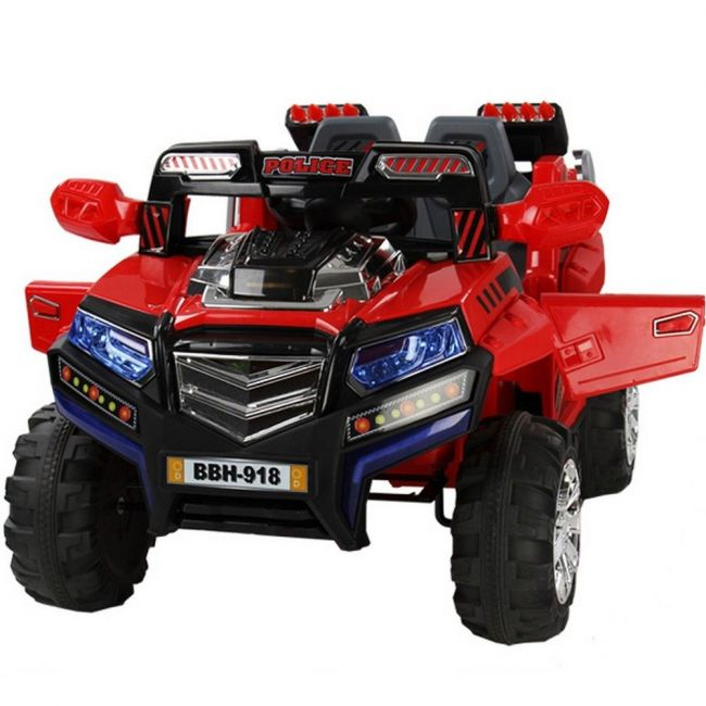 Megastar - Rideon Safari Jeep 2 Seater - Red