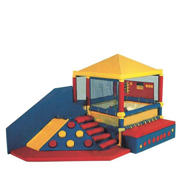 Megastar - Soft Play Zone Multi Activities Play House With Ball Pit For Toddlers & Small Kids ( Includes 50 Balls )
