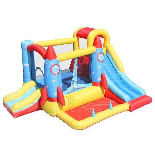 Megastar - Space Rocket Bounce House Jumping Castle Kids