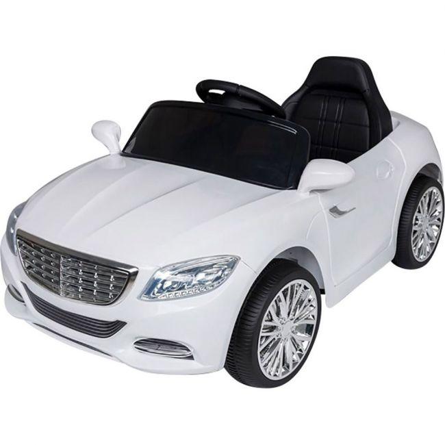 Megastar - Ride On 12 V Merc Style Roadster Car - White