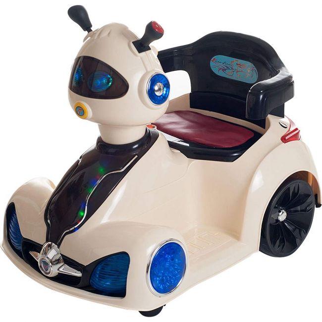 Megastar - Rideon 6V Lil Rider Rover Car - Cream