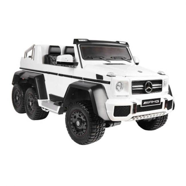 Lovely Baby - Mercedes-Benz G Class 6x6 Powered Riding SUV LB 1888 (M4) (White) 100% Assembled