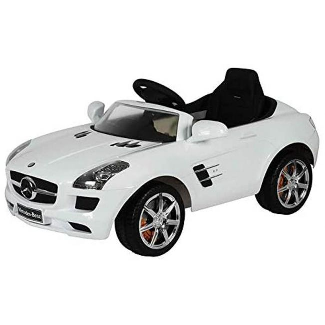 Lovely Baby - Mercedes-Benz SLS AMG Powered Riding Car LB 681R (White) 100% Assembled