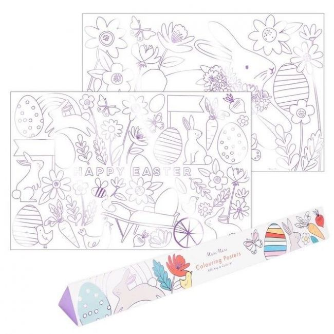 Meri Meri - Easter Colouring Posters