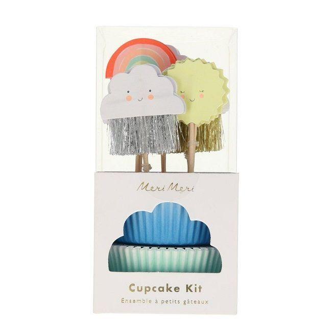 Meri Meri - Happy Weather Cupcake Kit