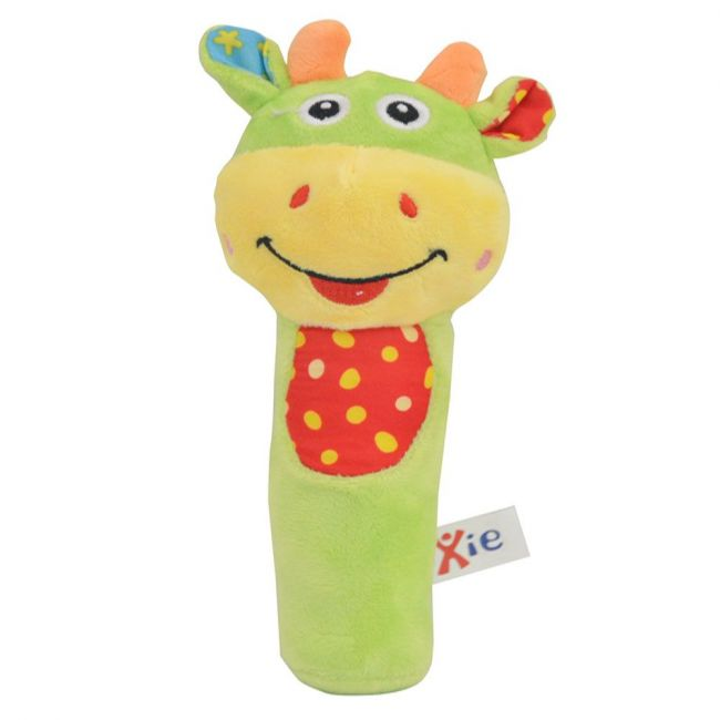 Pixie - Baby Cattle Rattle Toy