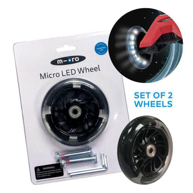 Micro - 2 X Led Wheel Maxi 120 mm Set