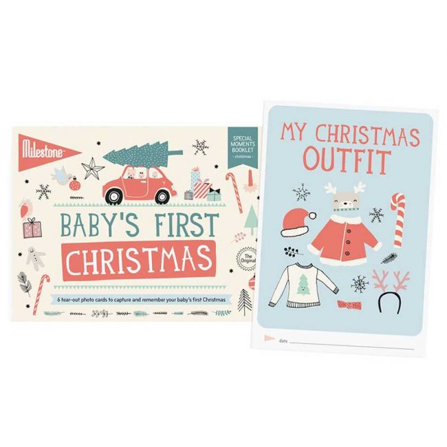 Milestone Baby's First Christmas Booklet