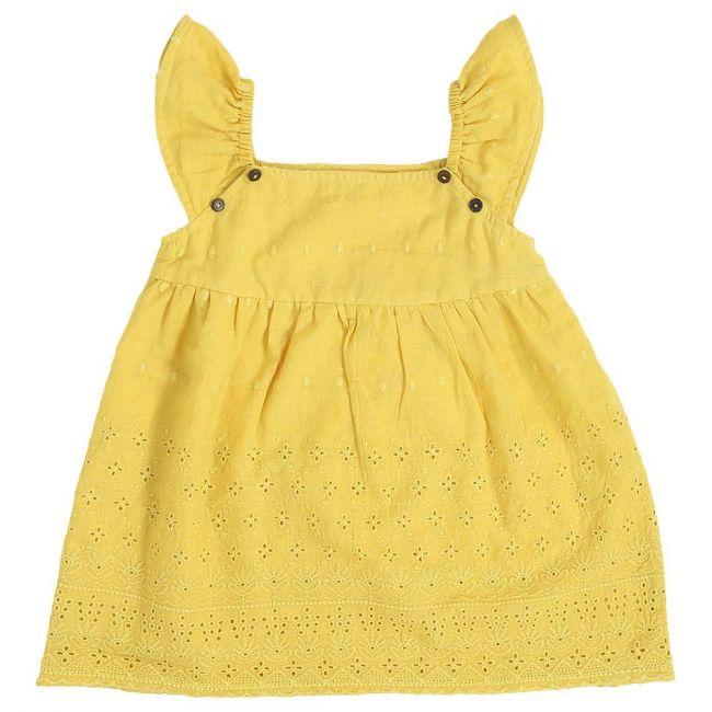 Mimmas World Scallop Dress - Yellow
