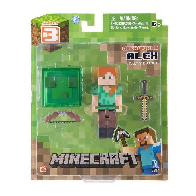 Mine Craft - Alex With Accessory