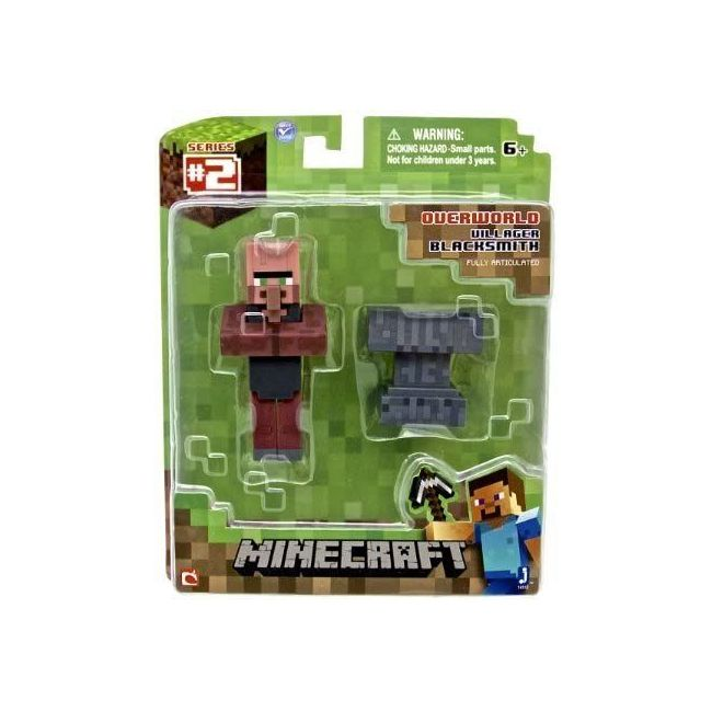 Mine Craft - Core Blacksmith Villager With Accessory