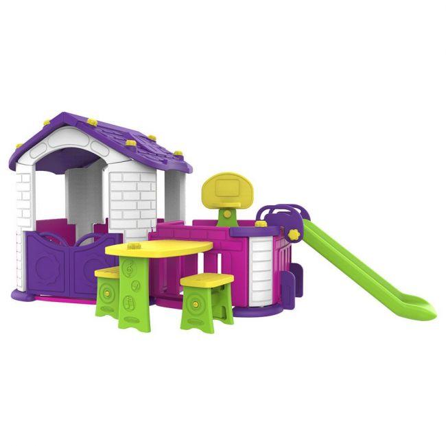 Mini Panda - Big Playhouse with 3 Play Activity