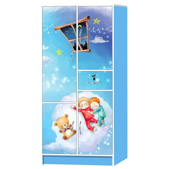 Mini Panda - Under the Starry Night Kids Cabinet