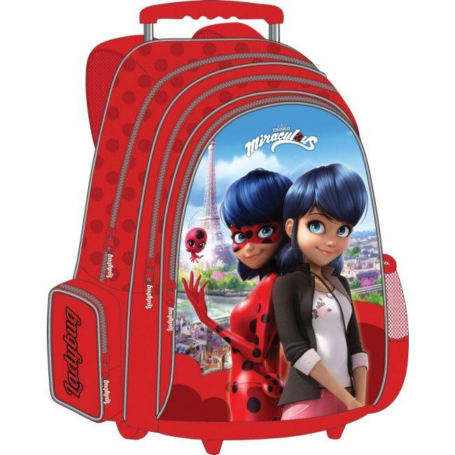 Disney Miraculous Trolley Bag 18 inch